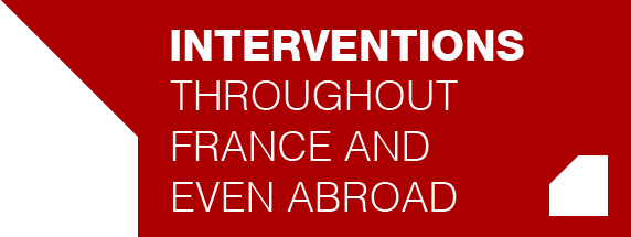 **Interventions** throughout france and even abroad