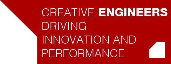 Creative **engineers**,  driving nnovation and perfomances